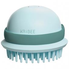 Антистатическая массажная расческа Kribee Electric Massage Comb (мятный)