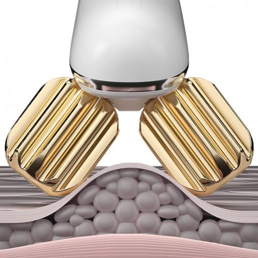 Аппарат для подтяжки кожи лица Wellskins Roller Face-lifting Beauty Instrument (белый)