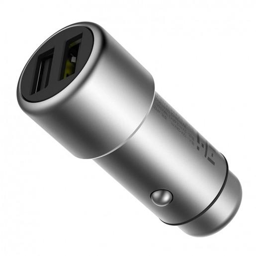 Автомобильное зарядное устройство ZMI Car Charger AP821 (серебряный)