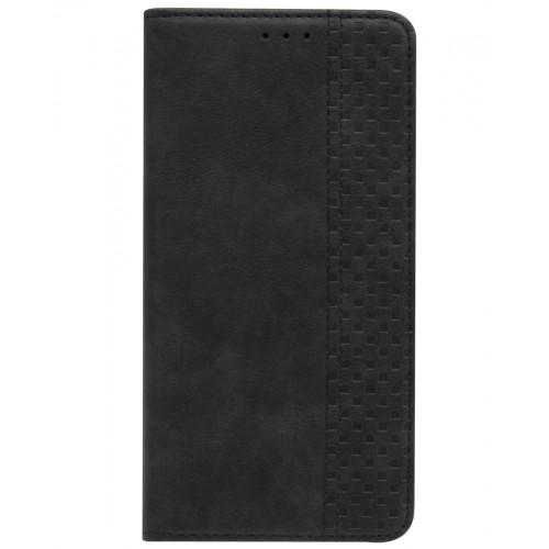 Чехол-книжка c магнитом для Redmi Note 8 (черный)