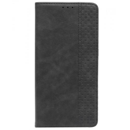 Чехол-книжка c магнитом для Redmi Note 8 Pro (черный)