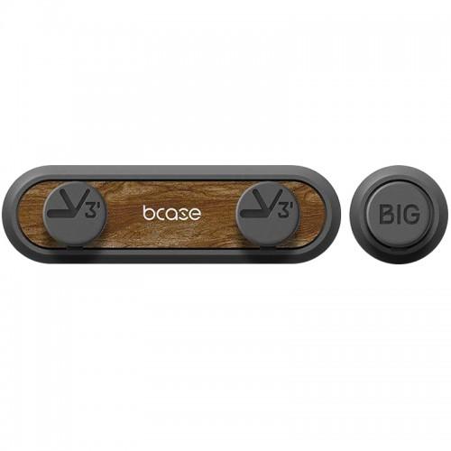 Держатель для кабелей Xiaomi bcase TUP Magnetic Nano Clip (темное дерево)