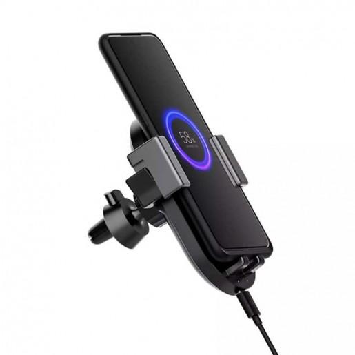 Держатель с функцией беcпроводной зарядки Xiaomi ZMI Wireless Charging Car Holder (WCJ10)