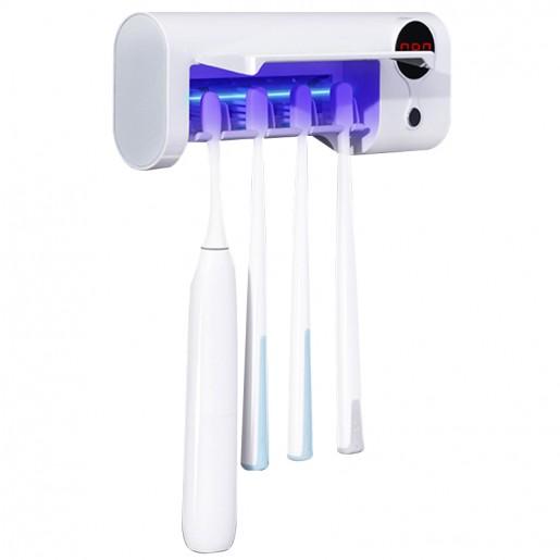 Дезинфицирующий держатель для зубных щеток Ultraviolet Toothbrush Sterilizer