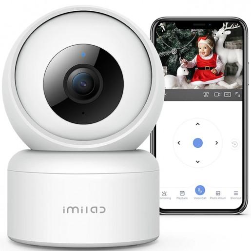 IP-камера IMILAB C20 Wireless Home Security Camera Set 1080p HD (EU, белый)