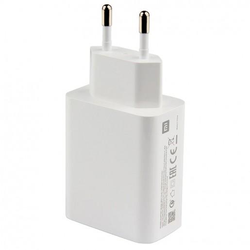 Оригинальное зарядное устройство Xiaomi USB 3A 27W (EAC, c проводом Type-C) (MDY-10-EL)