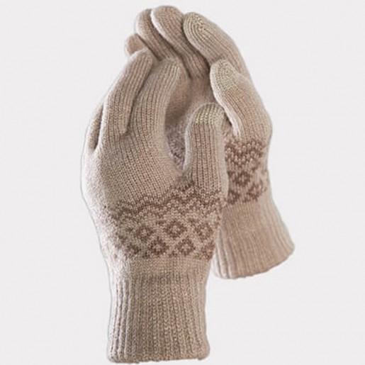 Перчатки для сенсорных экранов FO Touch Wool Gloves 160/80 (бежевый)