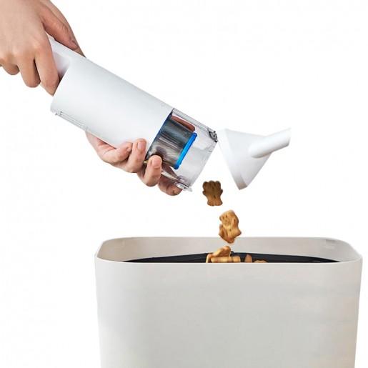 Портативный пылесос CleanFly FV2 Portable Vacuum Cleaner (белый)