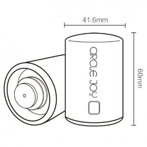 Пробка для винных бутылок Circle Joy Smart Stopper Corks (CJ-JS01): ответы на ваши вопросы