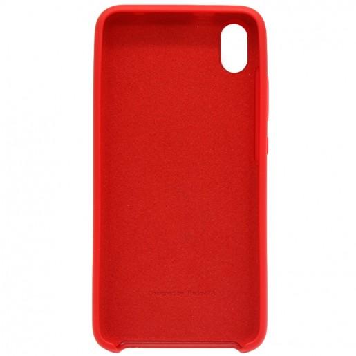 Силиконовый бампер Silicone Cover для Xiaomi Redmi 7A (красный)