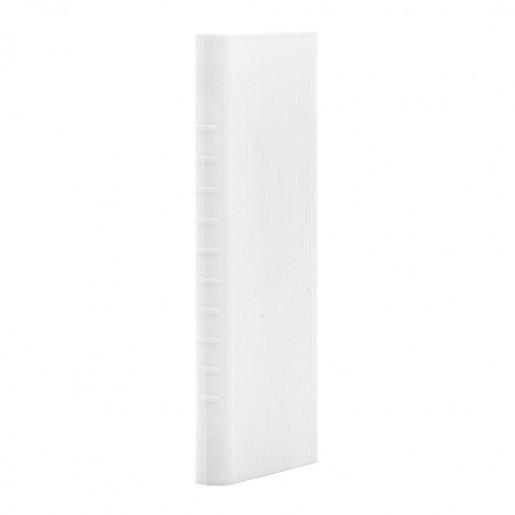 Силиконовый чехол для Xiaomi Power bank 2i 10000 (белый)