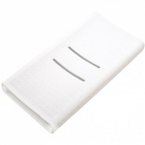 Силиконовый чехол для Xiaomi Power Bank 2С 20000 (белый)