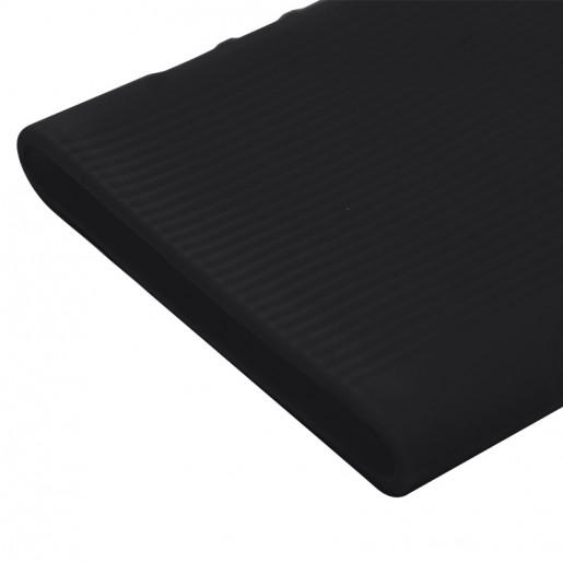 Силиконовый чехол для Xiaomi Power Bank 3 10000 (черный)