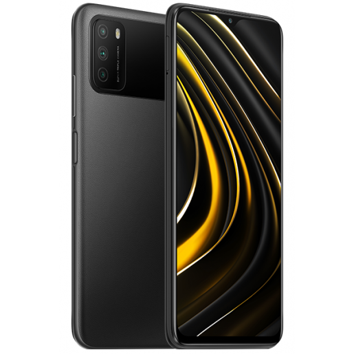 Смартфон POCO M3 4/128 Gb (Global, черный/Power Black)