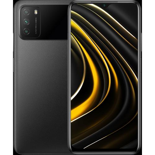 Смартфон POCO M3 4/64 Gb (Global, черный/Power Black)