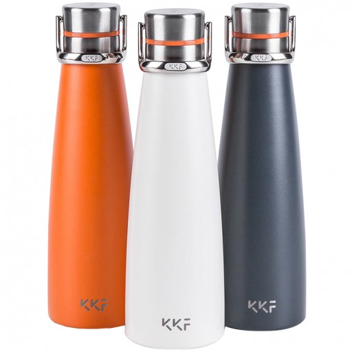 Термос Xiaomi KKF Vacuum Cup 475 мл (темно-серый)