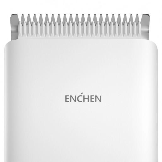 Триммер для волос + набор для стрижки Enchen Boost Hair Trimmer Set (белый)
