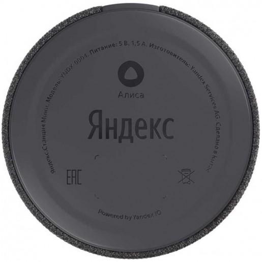 Умная колонка Яндекс Станция Мини (черная)