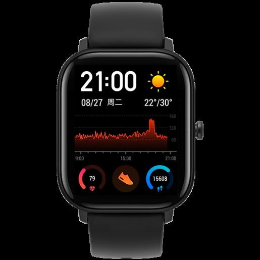 Умные часы Amazfit GTS Smart Watch (черный)