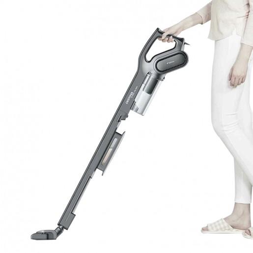 Вертикальный пылесос Deerma Vacuum Cleaner (EAC, черный) (DX700S)