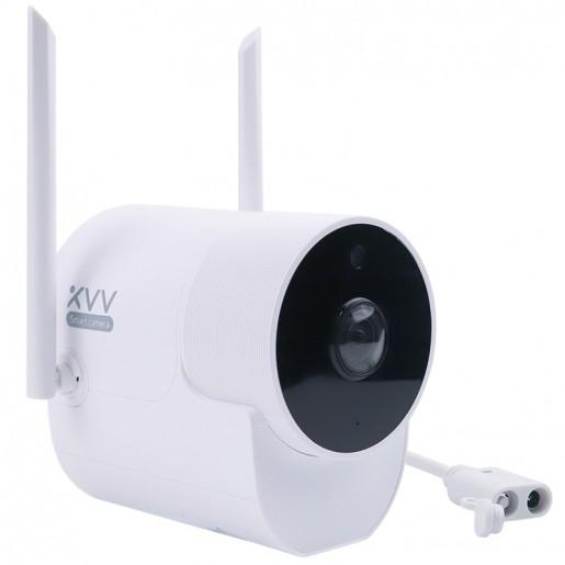 Видеокамера Xiaovv Outdoor Panoramic Camera (белый)
