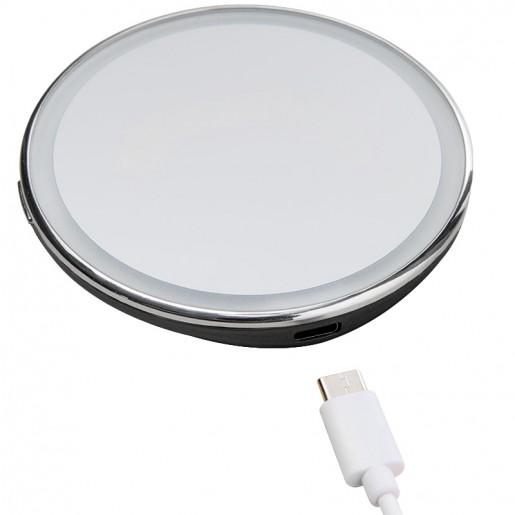 Зеркало для макияжа с подсветкой Jordan&Judy LED Makeup Mirror (черный)