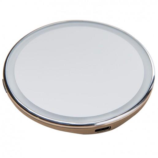 Зеркало для макияжа с подсветкой Jordan&Judy LED Makeup Mirror (серебряный)