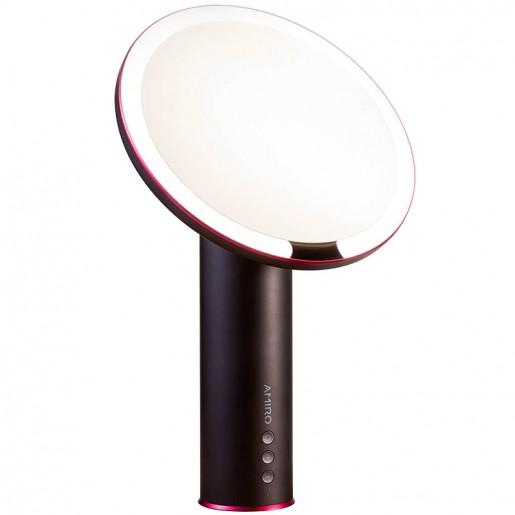 Зеркало для макияжа Xiaomi Amiro Daylight Mirror (черный)