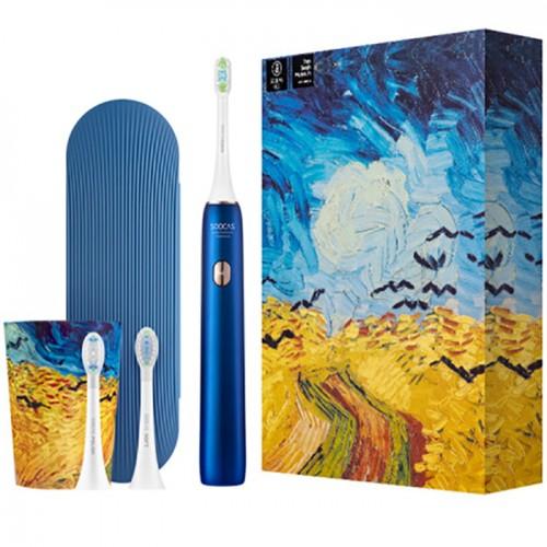 Зубная электрощетка X3U Soocas & Van Gogh Museum Design (синий)