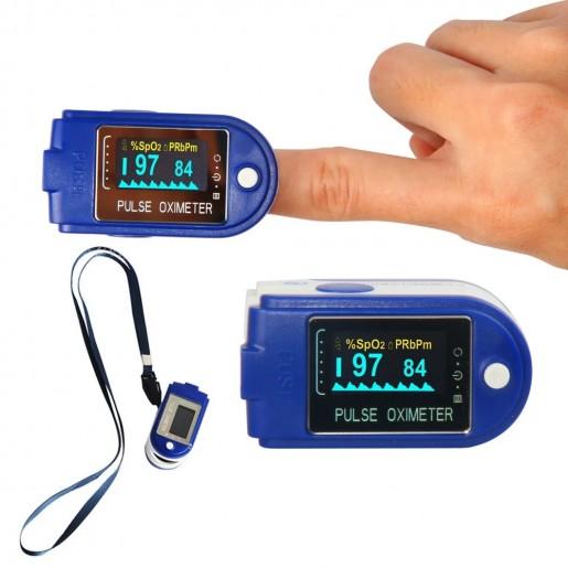 Цифровой пульсоксиметр Fingertip Pulse Oximeter SP02