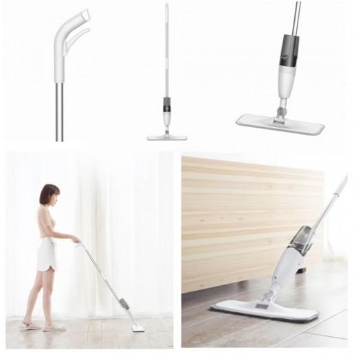 Швабра Deerma Water Spray Mop (белый/white)