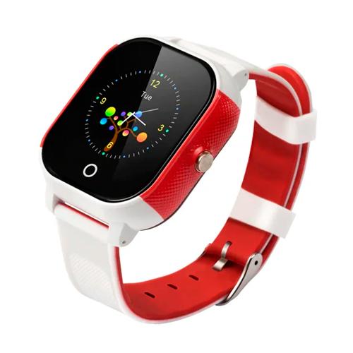 Детские часы Smart Baby Watch FA23 (Бело-красный)